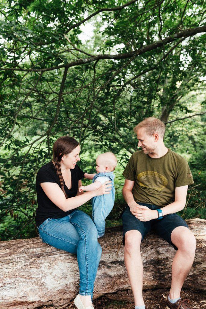 Outdoor family photography Surrey portrait
