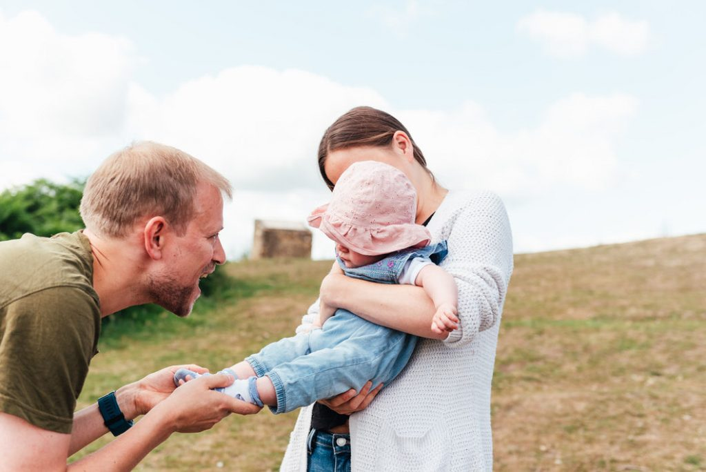 Outdoor Newborn Photography, Surrey Family Photography