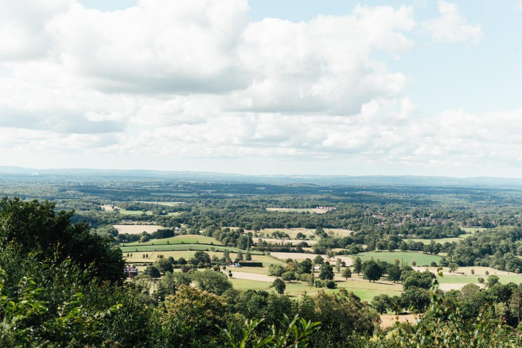 Holmbury Hill View Point