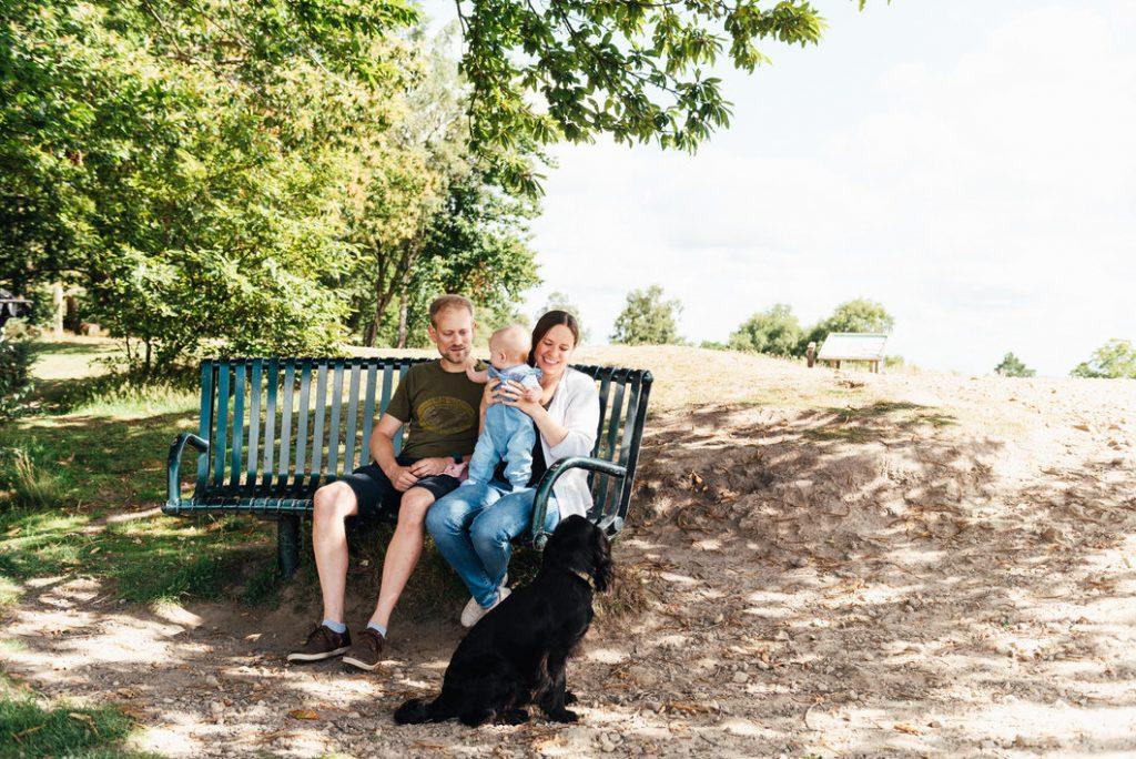 Holmbury Hill Family Shoot