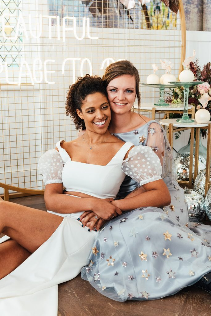Natural and relaxed couples portrait photography, lgbtq friendly wedding photographer