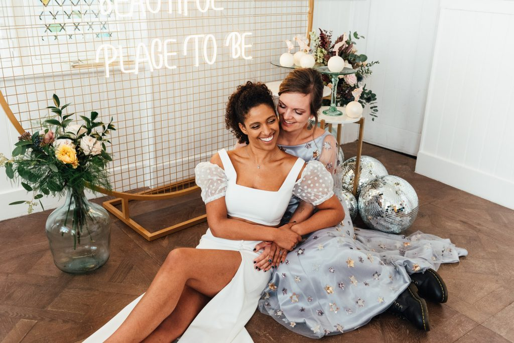 Natural and relaxed couples portrait photography, LGBTQ friendly photographer