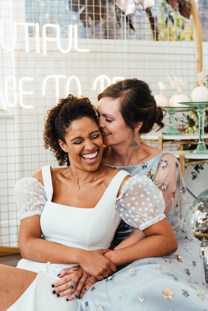 Fun Wedding Portraits, LGBTQ friendly wedding photographer