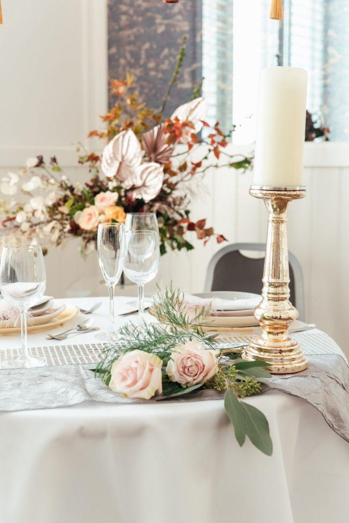 Wedding table decoration, LGBTQ friendly wedding photographer
