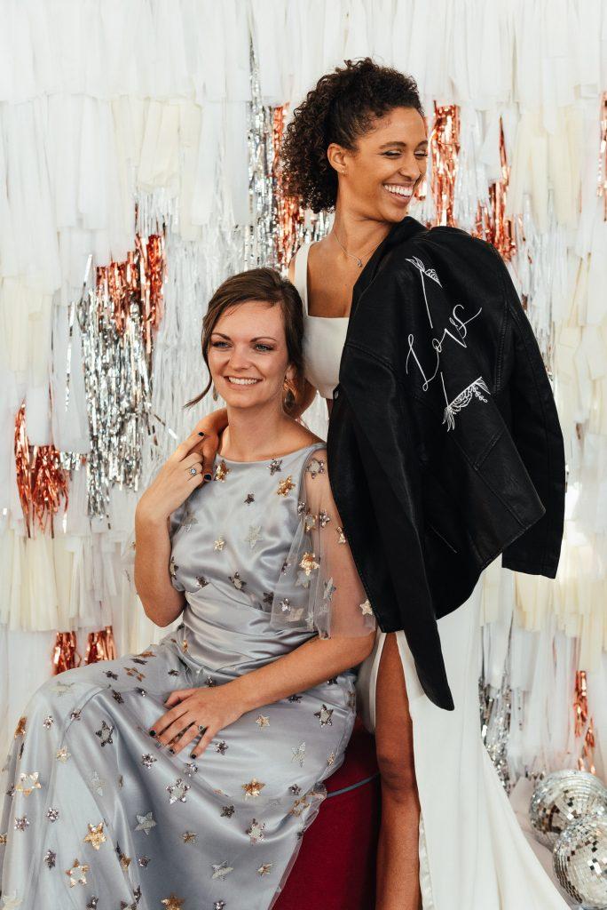 Punk Style Wedding Bridal Outfits, LGBTQ friendly photographer