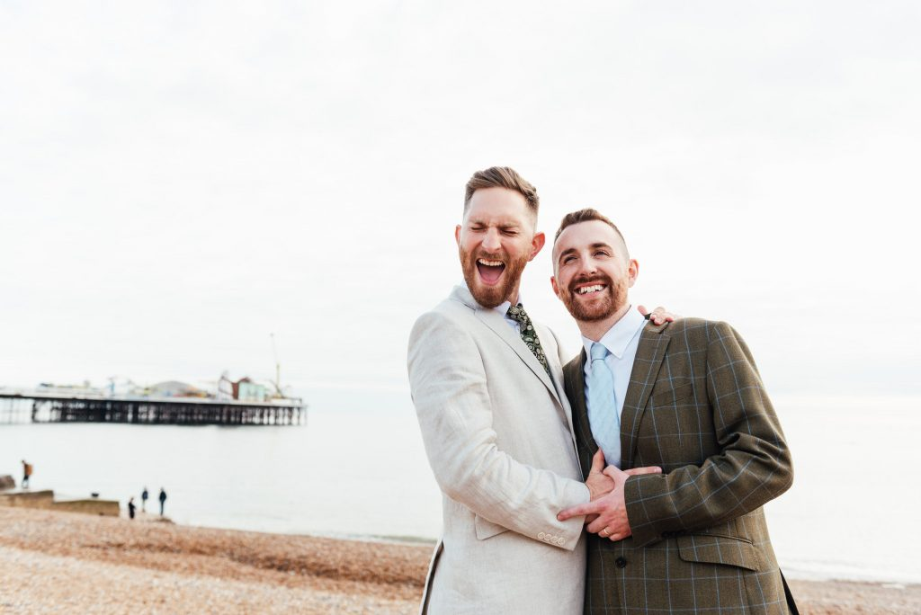 Fun East Sussex Wedding Photography