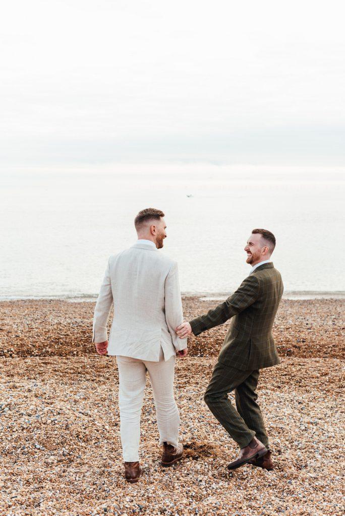 Fun LGBTQ Wedding Photography
