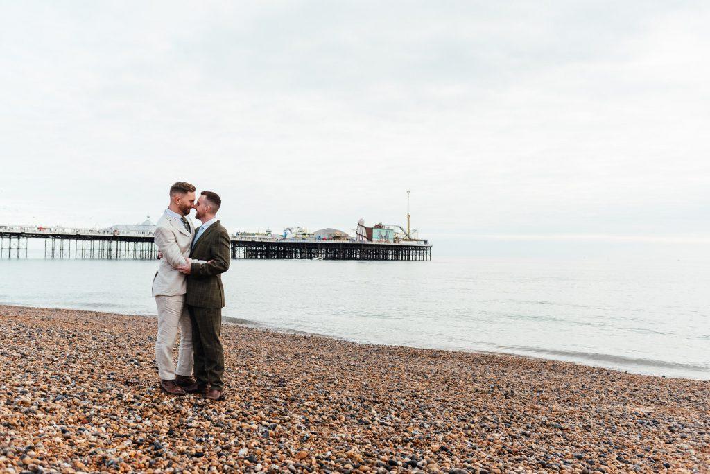 Natural Documentary Wedding Photography, LGBTQ friendly photographer