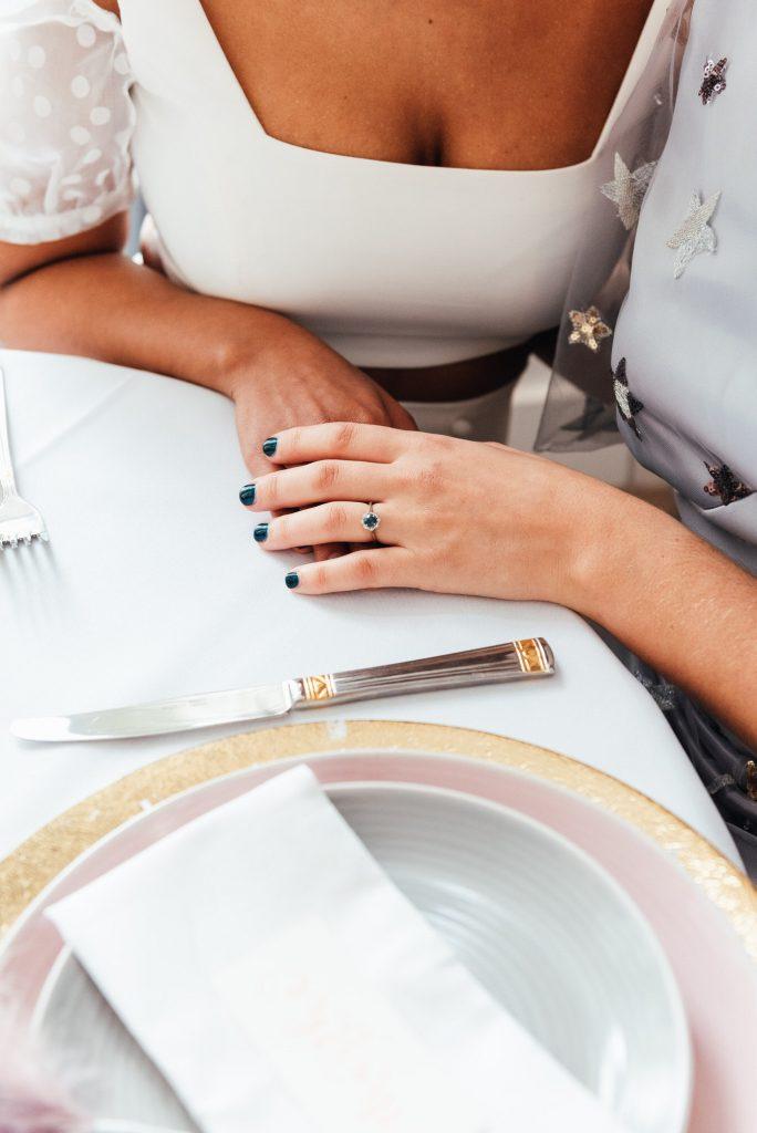 Wedding ring detail photography, lgbtq wedding photography