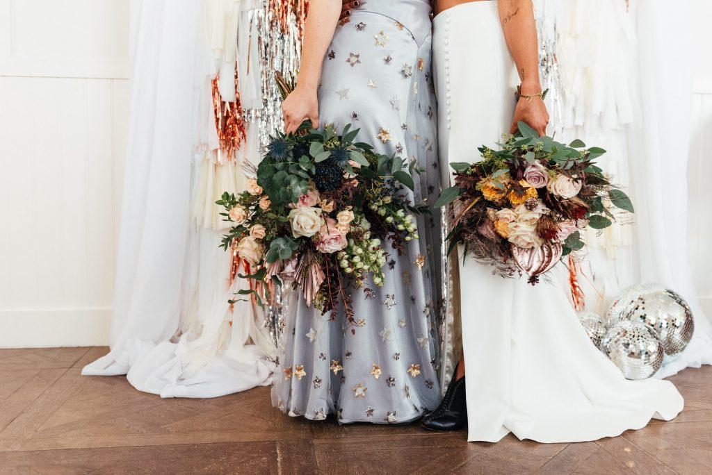Wedding bouquet floral photography