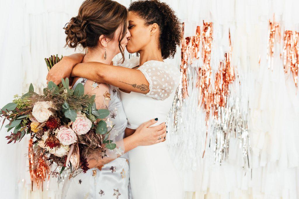 Romantic Couples Portrait, LGBTQ wedding photography