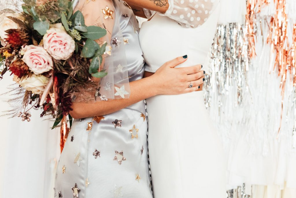 Relaxed LGBTQ wedding photography