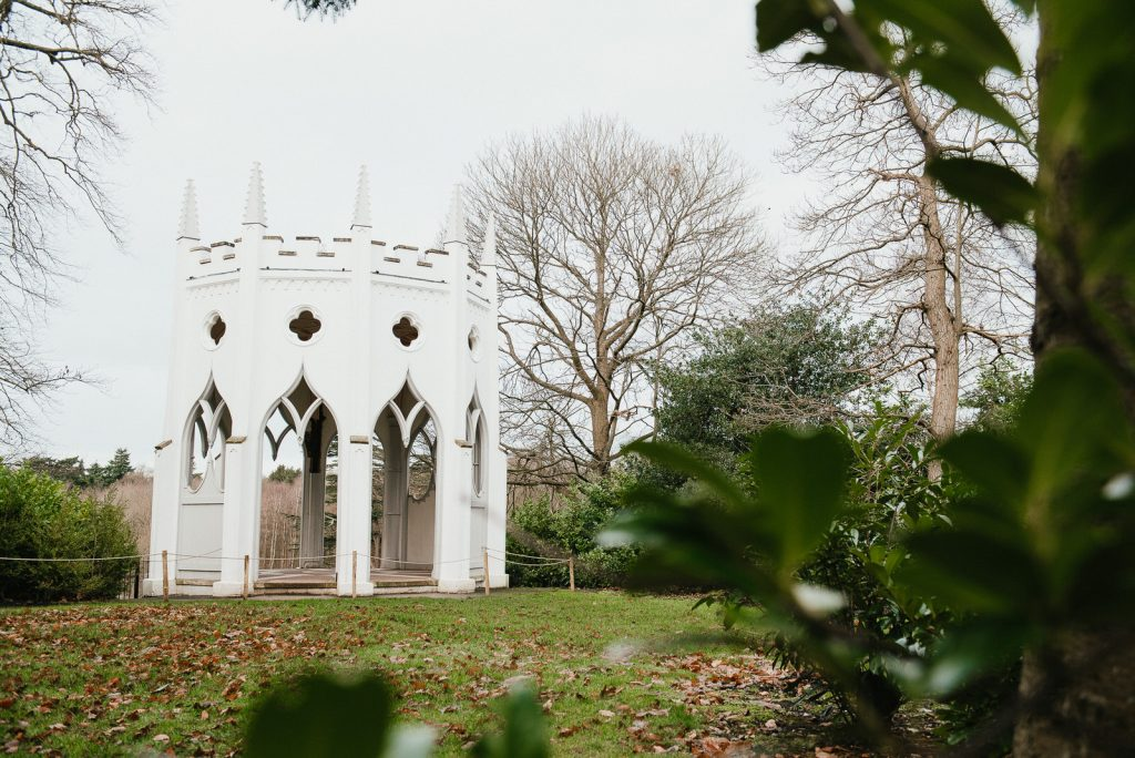 The Gothic Tower at Painshill Park