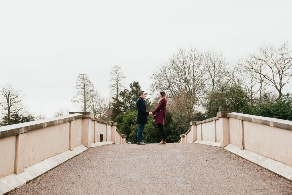 Creative engagement photography at Painshill Park