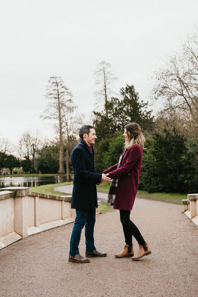 Natural Surrey Proposal Photography at Painshill Park