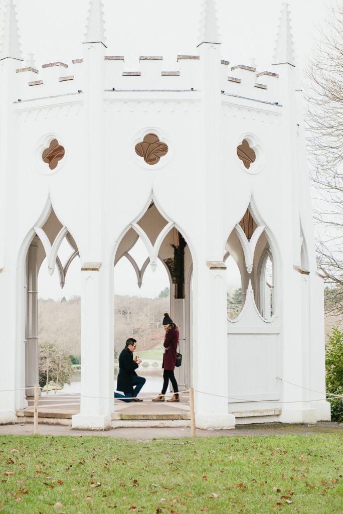 Candid Proposal at Painshill Park Surrey