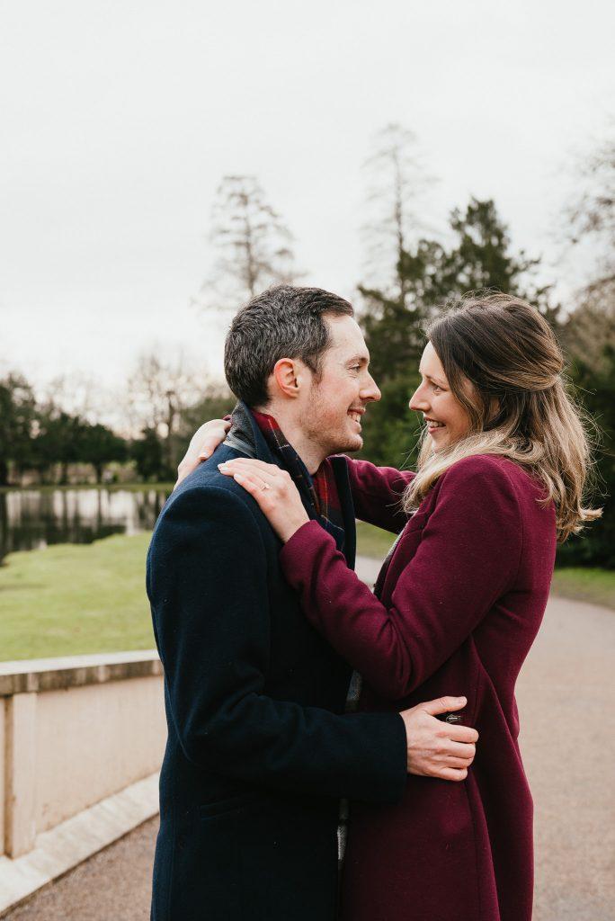 Painshill Park Surprise proposal photography