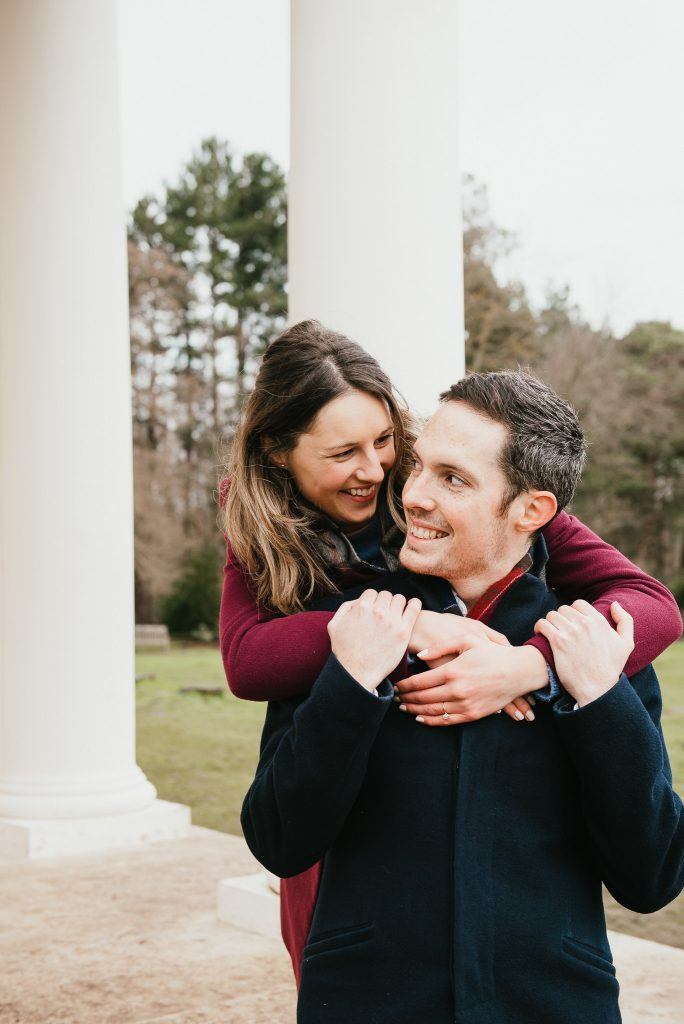 Romantic and intimate proposal photography