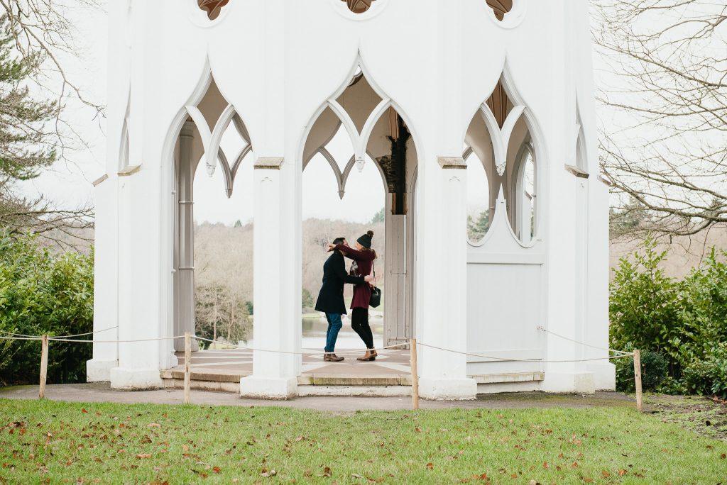 Surprise engagement photography, Surrey