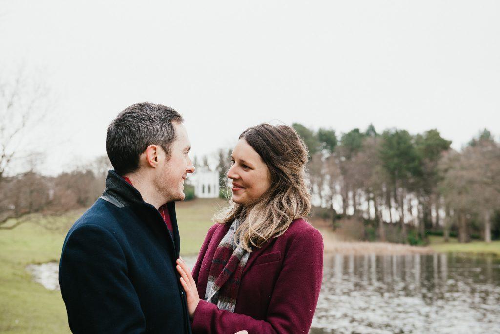 Natural couples portrait, Surrey