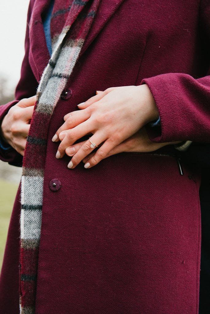 Surrey engagement ring photography