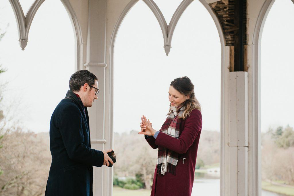 Surprise Proposal Surrey Engagement Photography