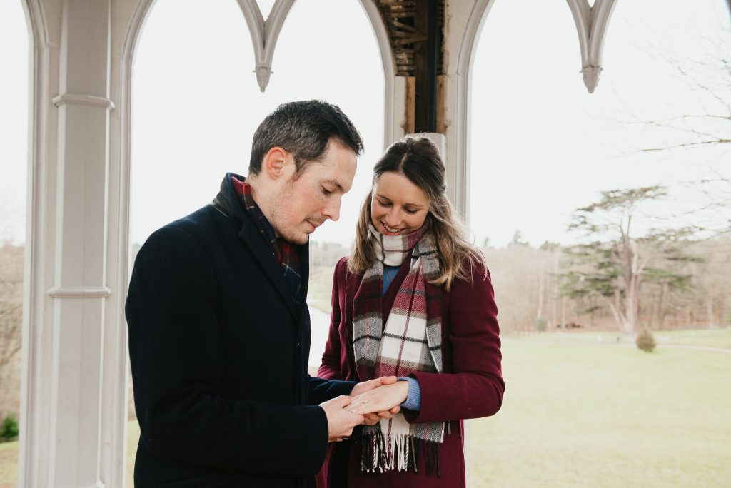 Relaxed couples engagement photography, Surrey