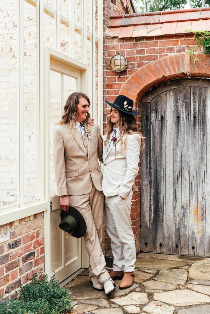 Relaxed Outdoor Wedding Portraits
