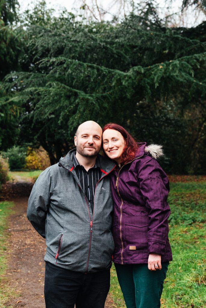 Natural Couples Parent Portrait Surrey