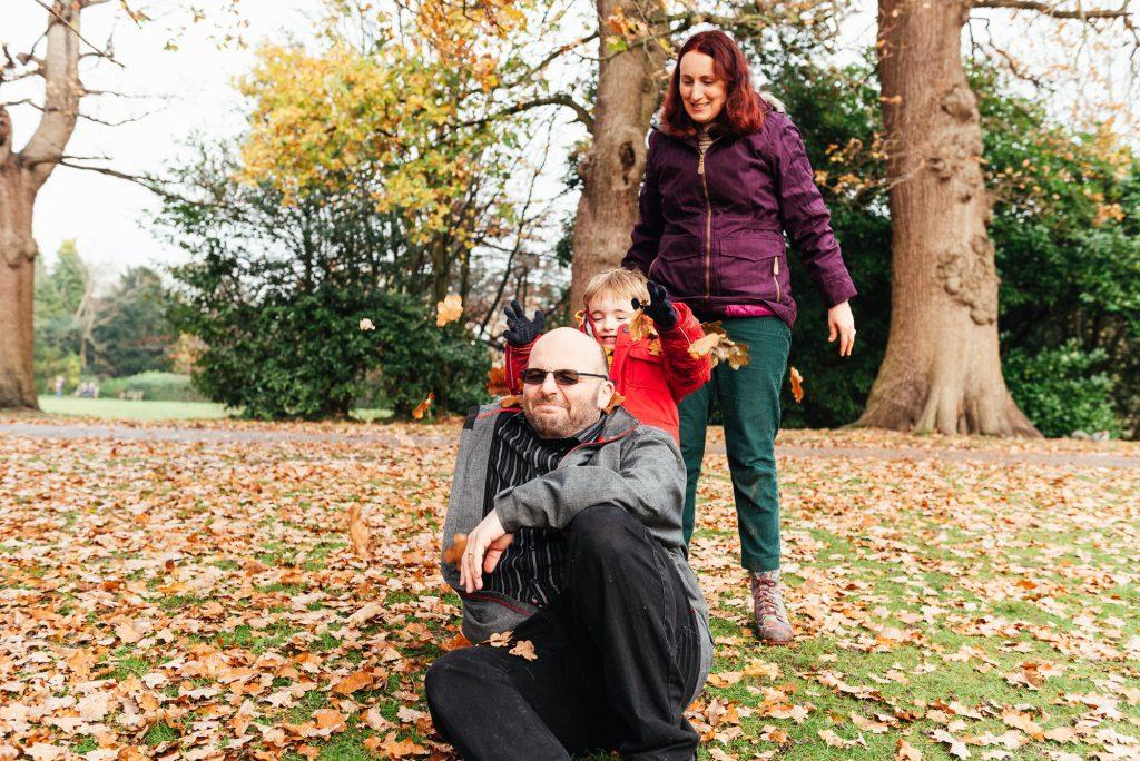 Creative and Fun Family Portrait, Surrey Family Photographer