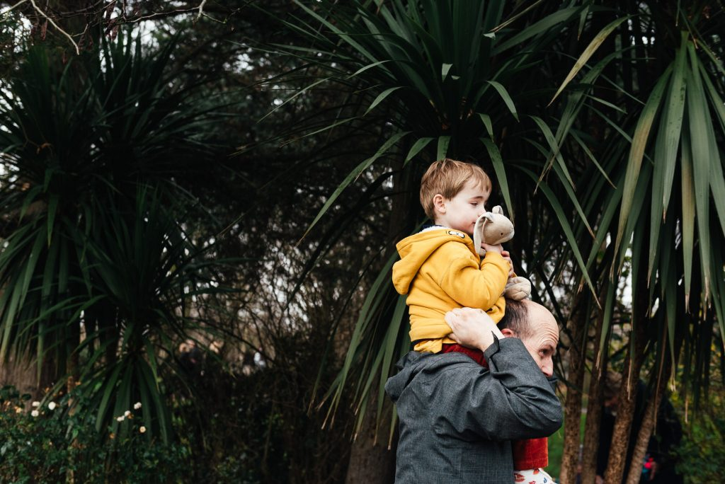 Artistic Father and Son Portrait, Nonsuch Mansion Family Shoot