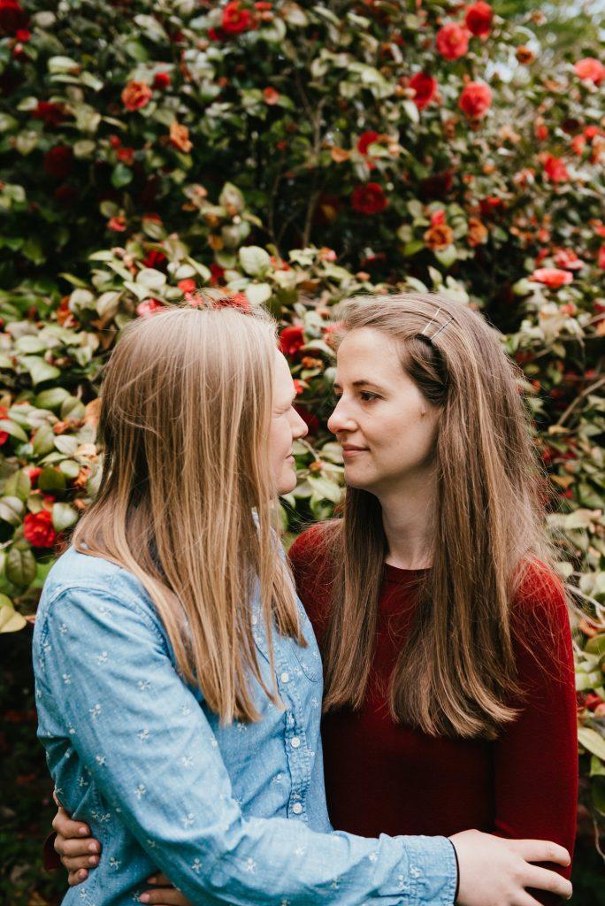Intimate Winkworth Arboretum Couples Shoot Surrey