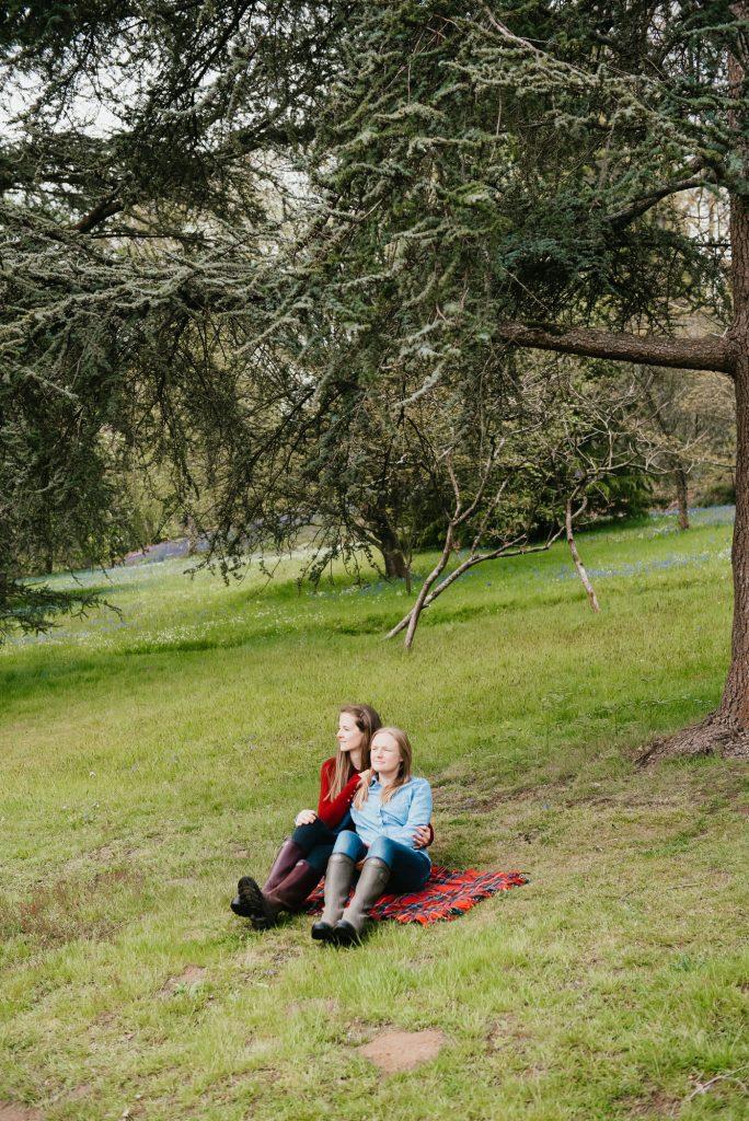 Candid Winkworth Arboretum Couples Shoot