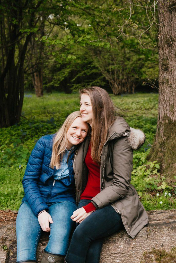 Surrey Engagement Photography Winkworth Arboretum