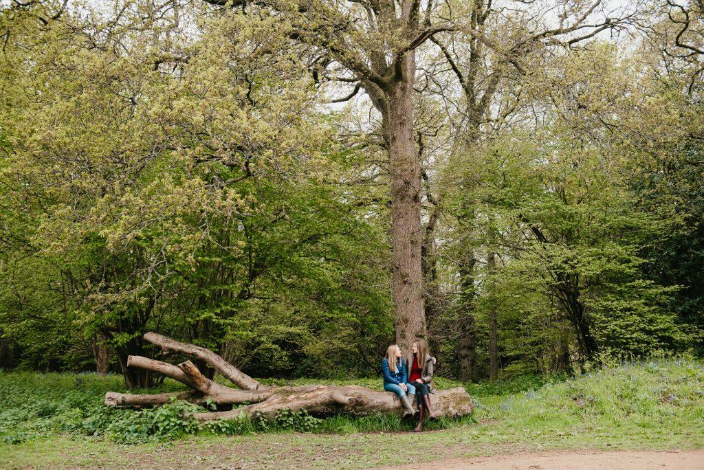 Woodland engagement shoot Surrey