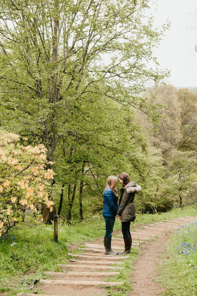 Natural Surrey Engagement Photography