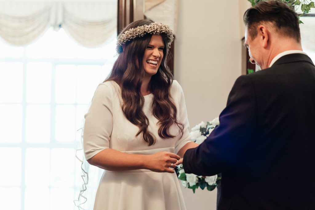 Fun, Relaxed Wedding Ceremony Photography