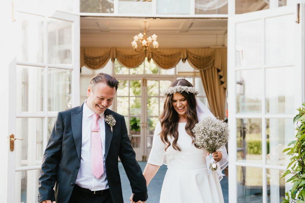 Intimate micro Surrey Wedding