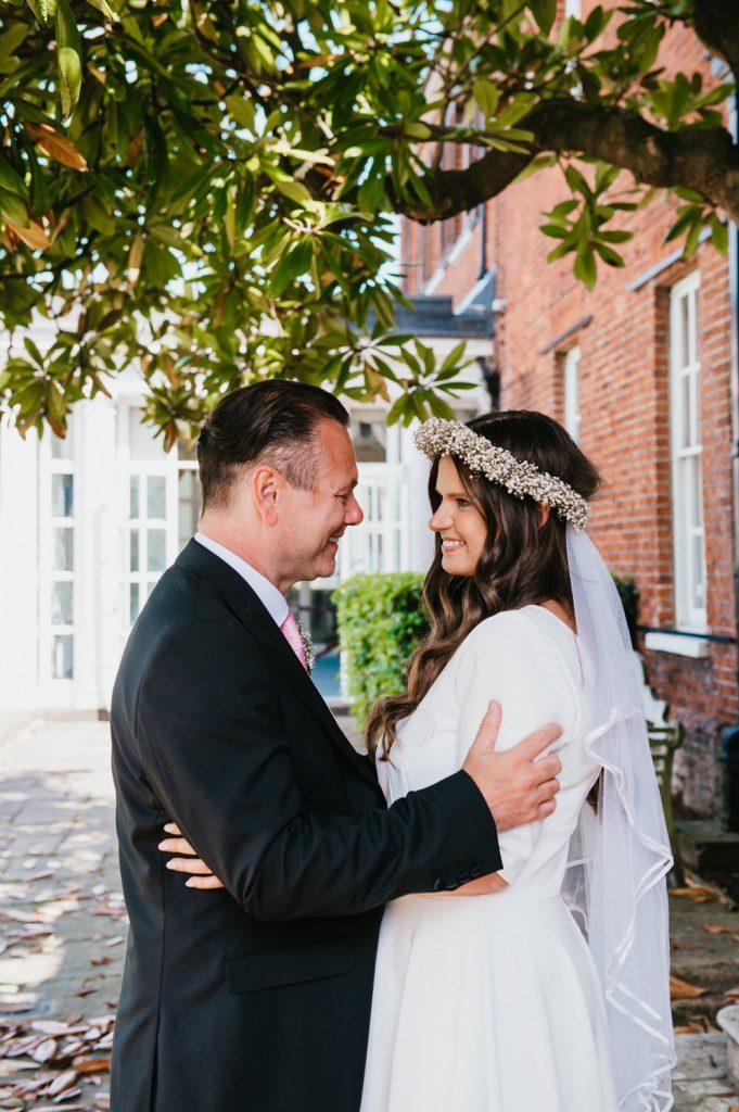 Natural Wedding Portrait, Surrey Wedding Photography