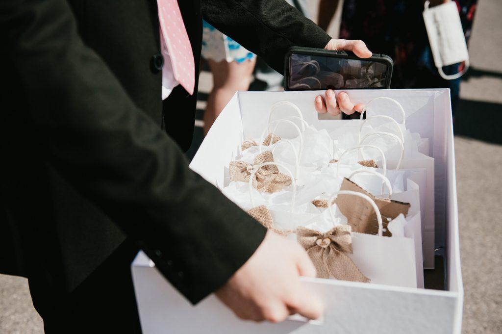 Wedding favours, Surrey Wedding