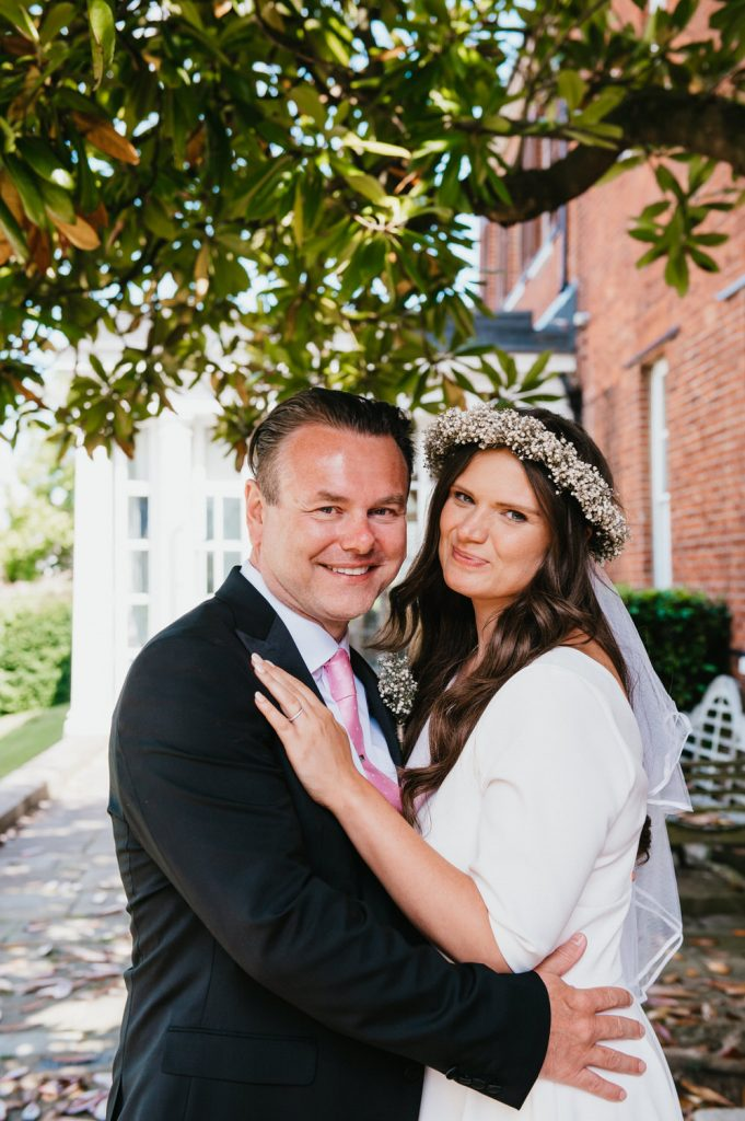 Natural Wedding Portrait, Leatherhead Registry