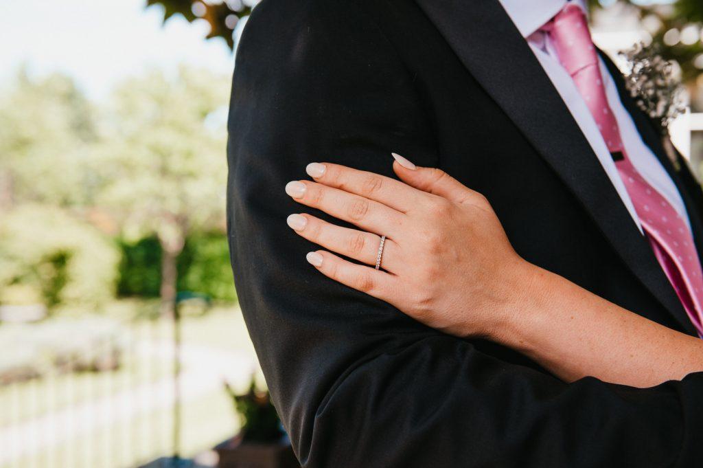 Wedding portrait details, Leatherhead Registry Wedding