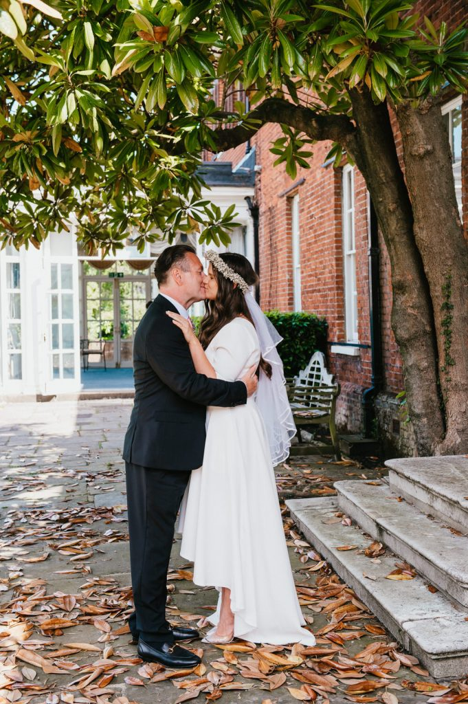 Intimate Wedding Portrait, Surrey