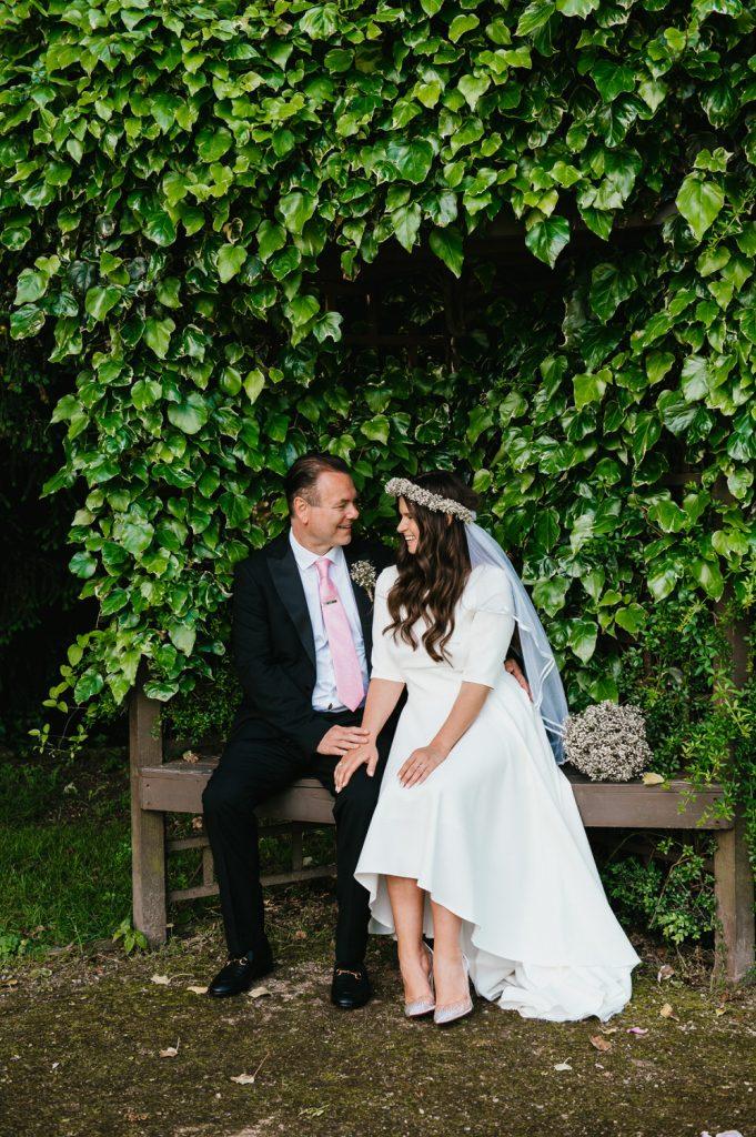 Creative Wedding Portrait, Surrey Wedding Photographer