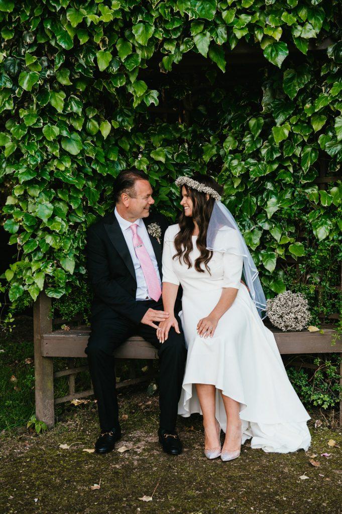 Romantic Couples Portrait, Leatherhead Registry Wedding