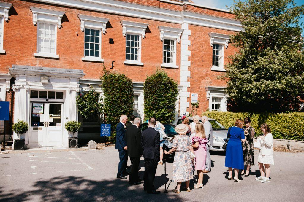 Intimate Micro Surrey Wedding, Leatherhead