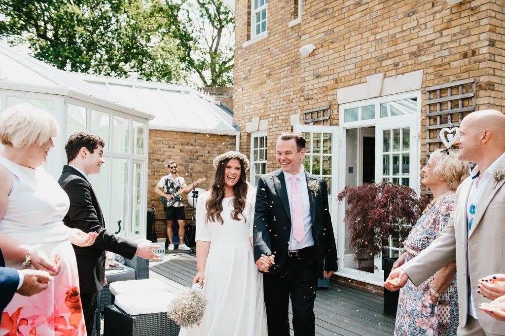 Leatherhead Registry wedding