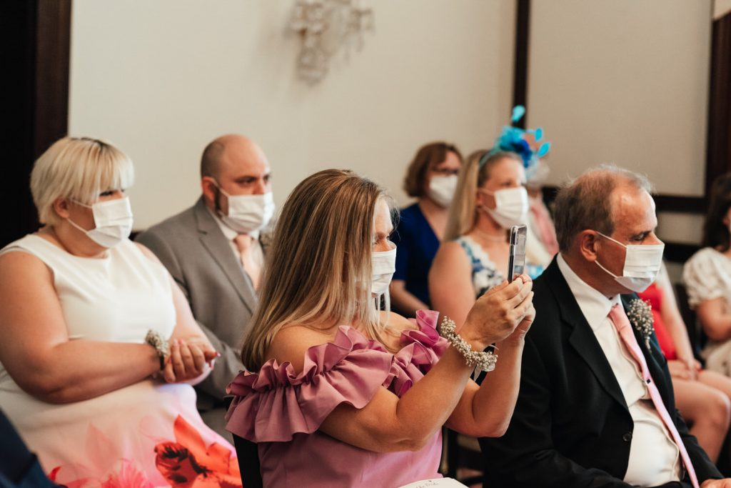 Pandemic Wedding Leatherhead Registry Wedding