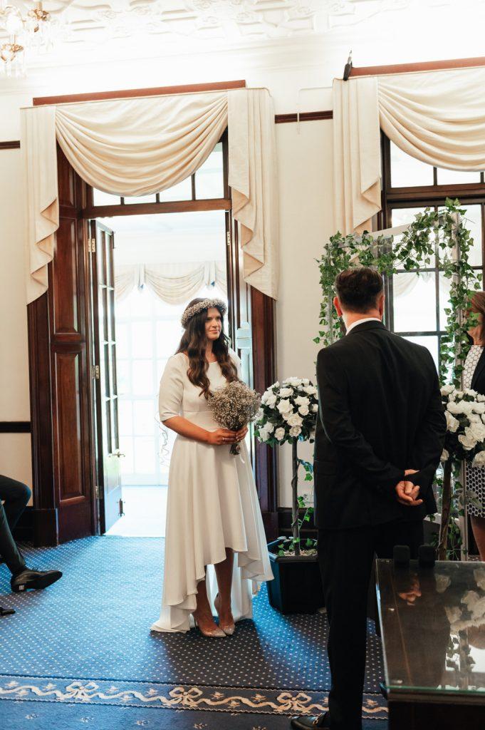 Pandemic Wedding Ceremony, Surrey Wedding Photographer