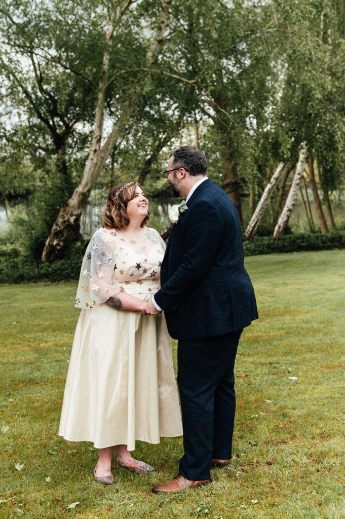 Relaxed Weybridge Wedding Photography Portrait